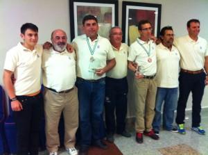 Los siete representantes onubenses en Roquetas